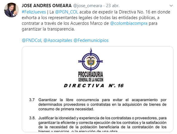 Tweet Jose Andres Omeara